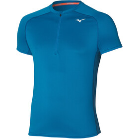 Mizuno ER Trail Half Zip Tee Men, mykonos blue